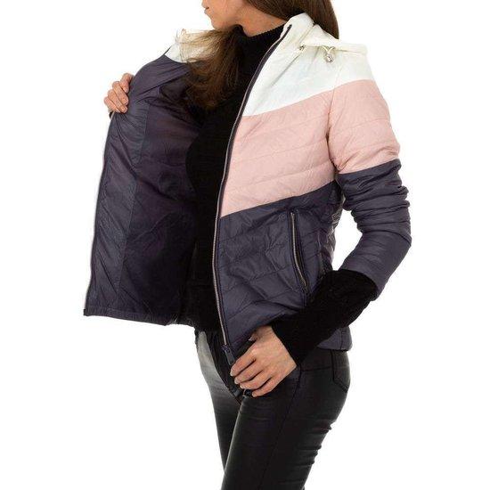 Rose-grijze midseason jacket.SOLD OUT