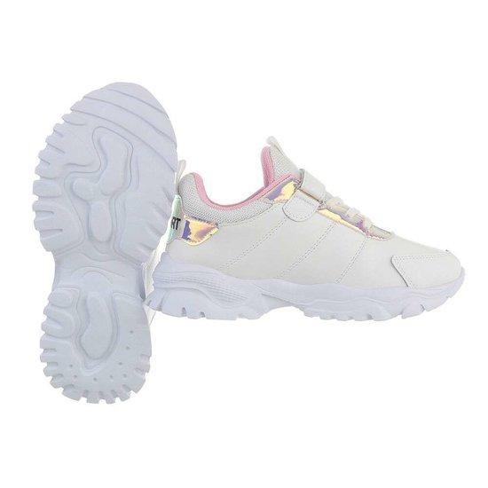 Trendy witte meisjes sneaker Suus.