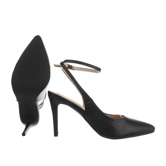 Trendy zwarte pump Mirella.