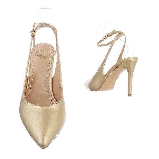 Gouden pump Mirella.