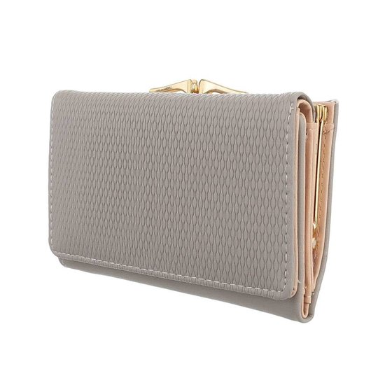 Classy grijze portemonnee.