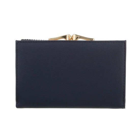 Classy donker blauwe portemonnee.