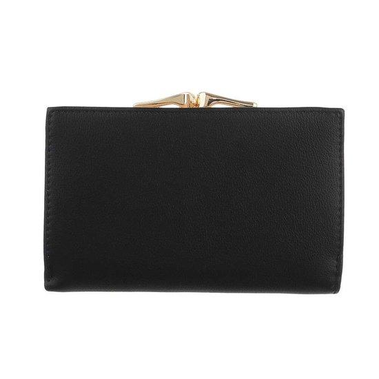 Classy zwarte portemonnee.