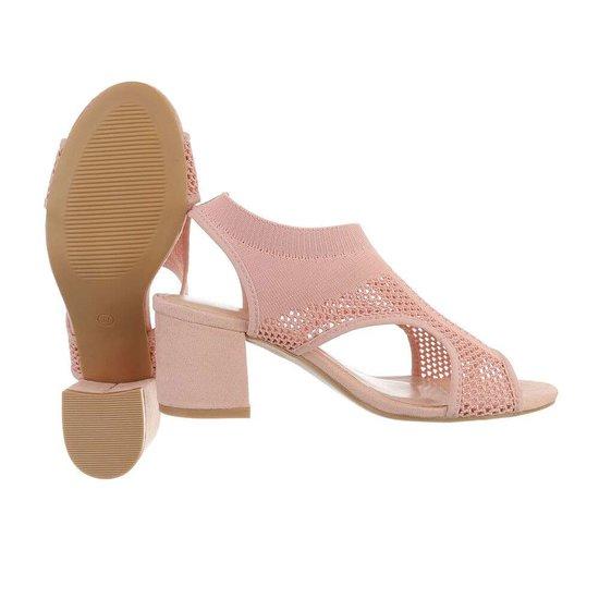 Hoge rose sandaal Sifra.