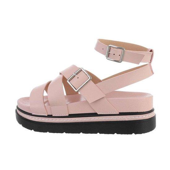 Rose platform sandaal Nisa.