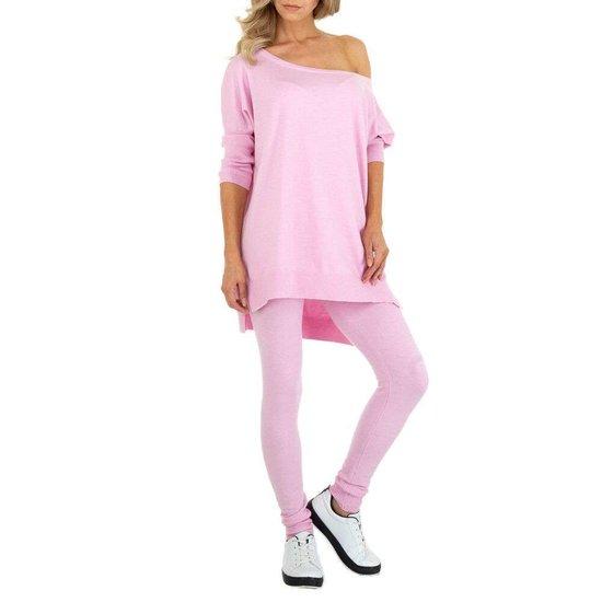 Cozy rose loungewear.