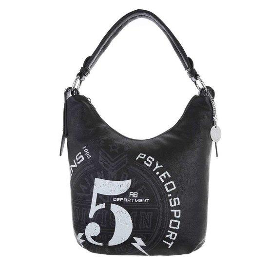 Kleine zwarte shopperbag.SOLD OUT