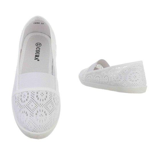 Witte loafer Vive