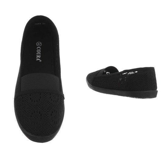 Zwarte loafer Vive