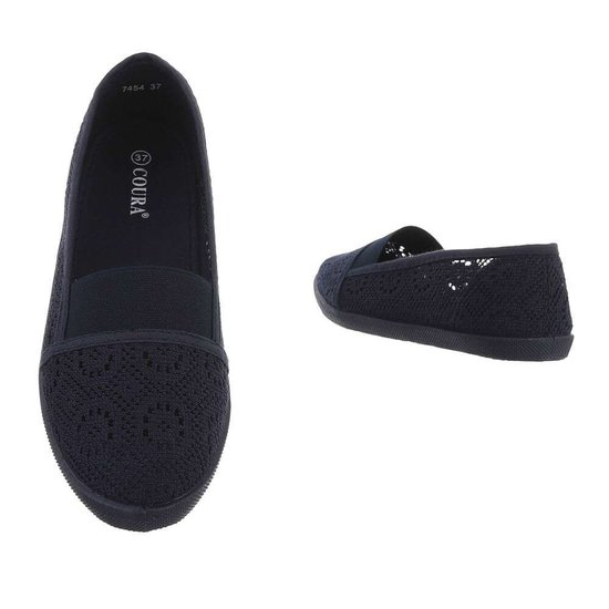 Donker blauwe loafer Vive