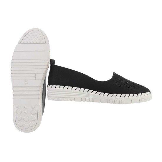 Zwarte loafer Sylke.