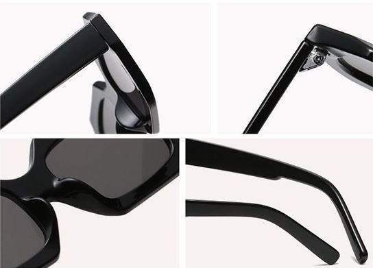 Vintage zwarte zonnebril.