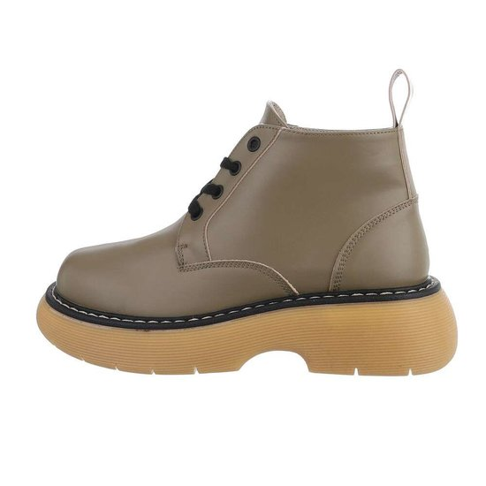 Kaki boot Reya.
