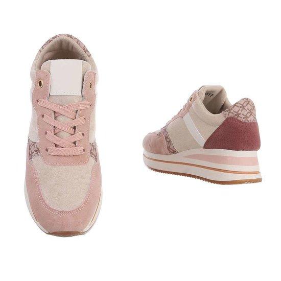 Rose fashion lage sneaker Fonda.