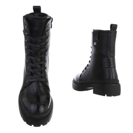 Classy zwarte boot Viva.