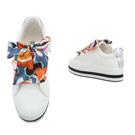 Bianca lage sneaker