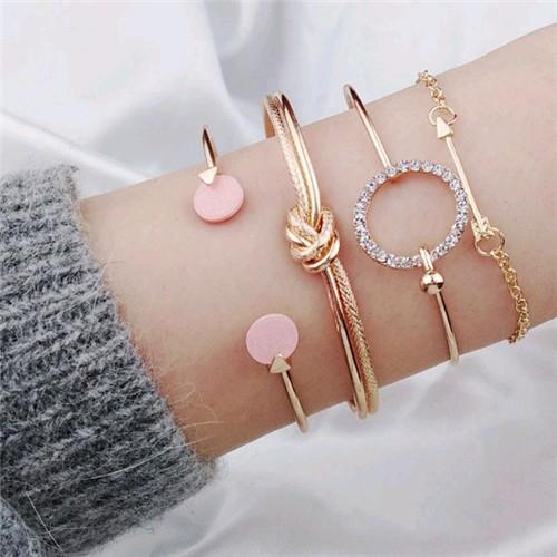 Fashion armbanden set 4 stuks