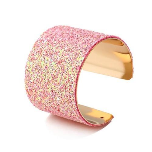 Armband met sequin.