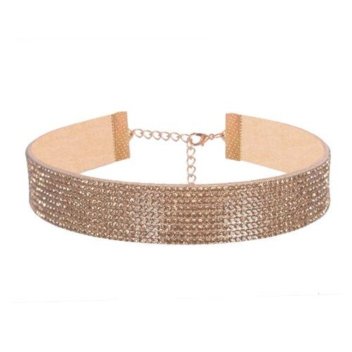 Fashion choker in 4 kleuren.