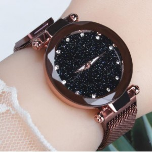 Trendy dames horloge in flashy kleuren.