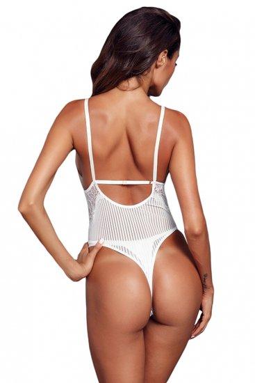 Sexy bodysuit met kant.