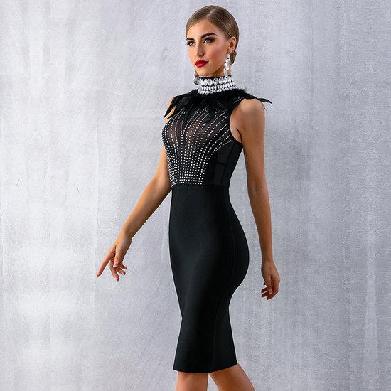 Elegante boutique dress
