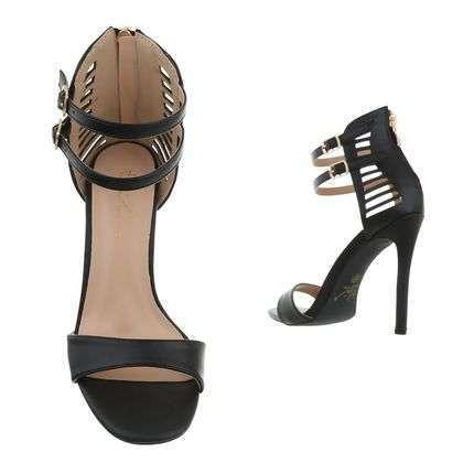 Aby fashion hoge sandaal.