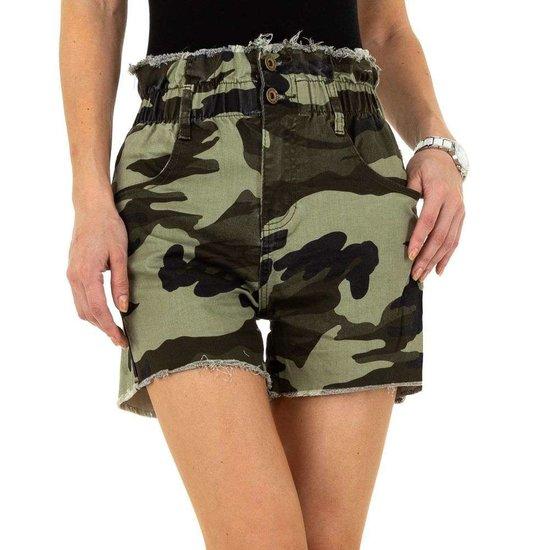 Armygroen camou short