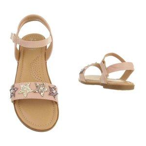 Rose kinder sandaal Simone.
